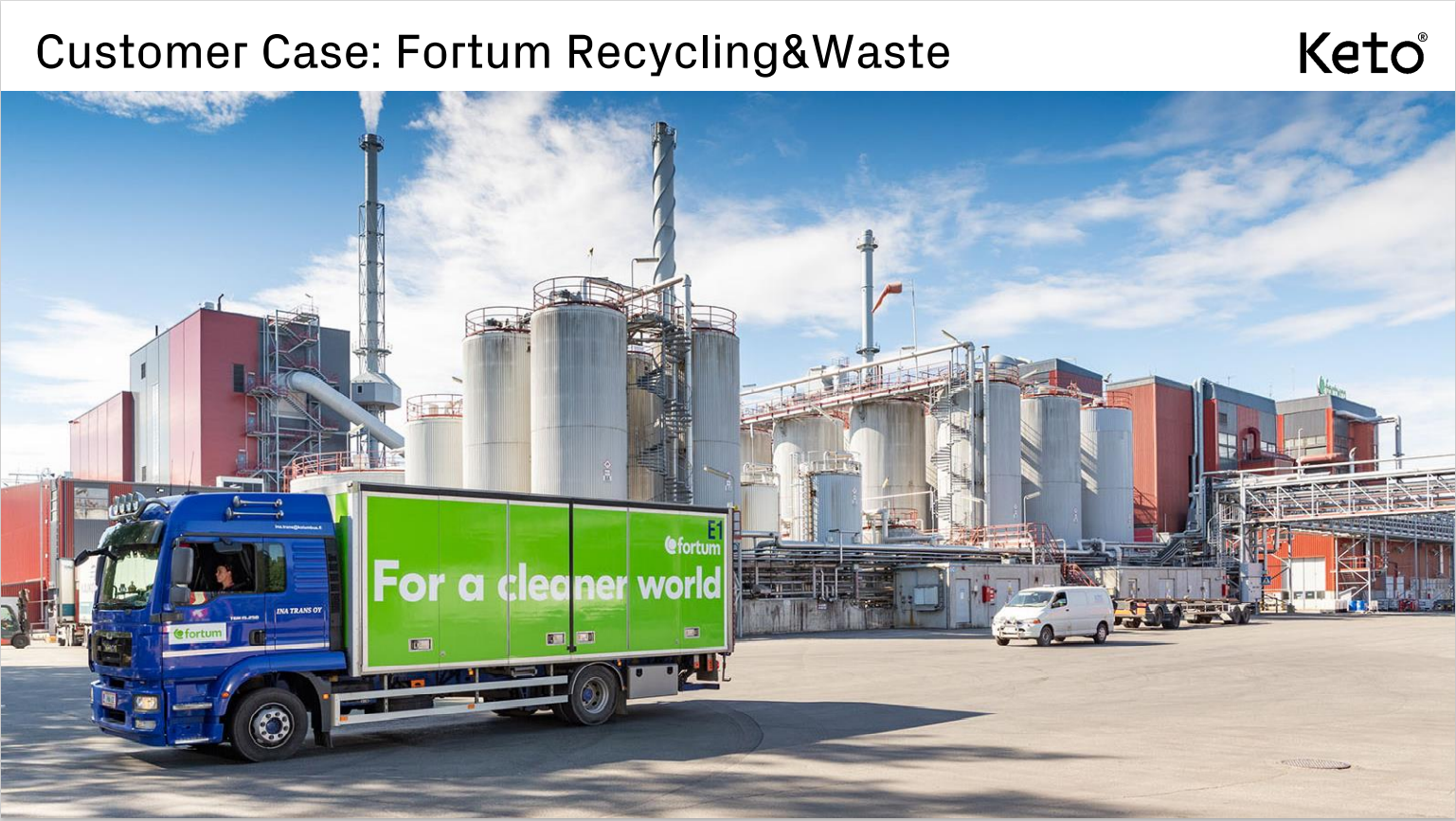 Fortum front page